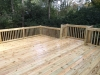Deck with bumpout