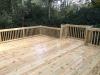 Deck with bumpout