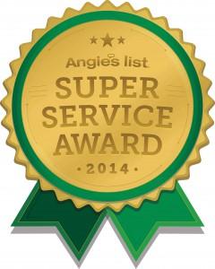 Angies List award2014